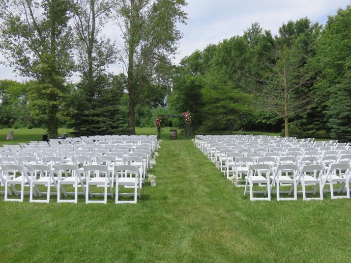 Coop's Event Barn, Outdoor Ceremony Space